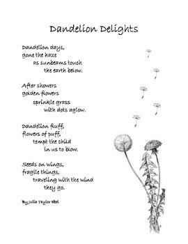 Spring Poem: Dandelion Delights