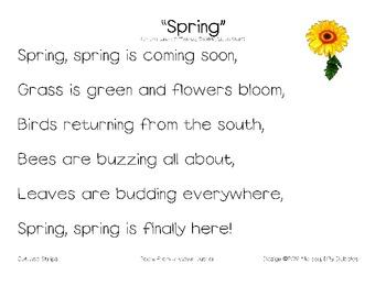 Spring Poem Pack