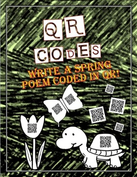 Technology Activity:  Spring Poetry in QR code