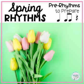 Spring Pre-reading Rhythms - ta, ti-ti, rest (Kodaly Prepa