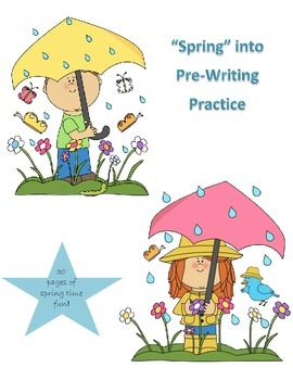 Spring Prewriting Bundle