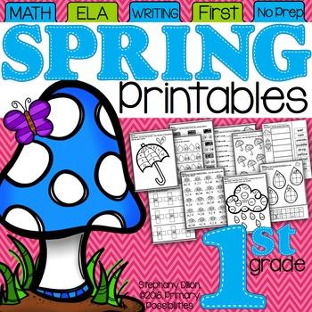 Spring Printables for First Grade {Ready, Set, Print!}