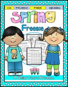 Spring Printables for Kinders FREE (ELA)