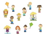 Spring Pronoun Activities for Receptive and Expressive Language