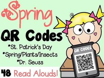 Spring QR CODES - 48 Read Alouds!