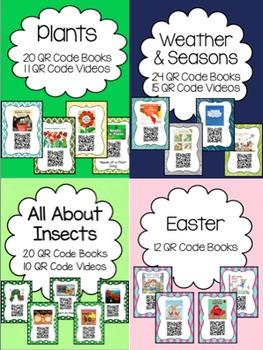 Spring QR Code Books (BUNDLE)