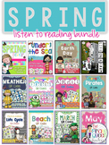 Spring QR Codes Bundle: 204 Stories for Your Daily Five Li