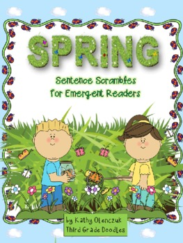 Spring Read-Think-Write-Draw -- Sentence Scrambles for Eme