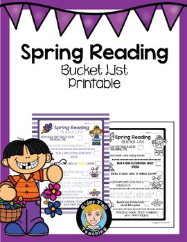 Spring Reading Activities- No Prep Printables