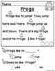 Spring Reading Comprehension for Kindergarten