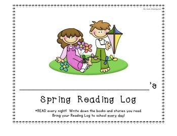 Spring Reading Log