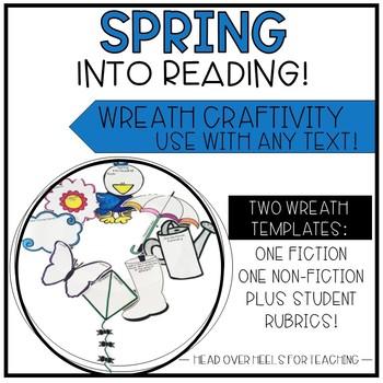 Spring Reading Wreath Craftivity