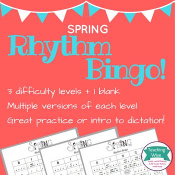 Spring Rhythm Bingo!