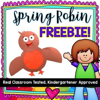 Spring Robins! FREEBIE!