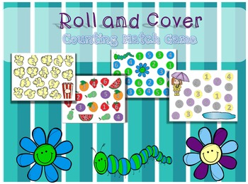 Spring Roll and Cover Game for Autism Students