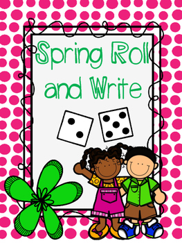 Spring Roll and Write {Sight Word Activity}