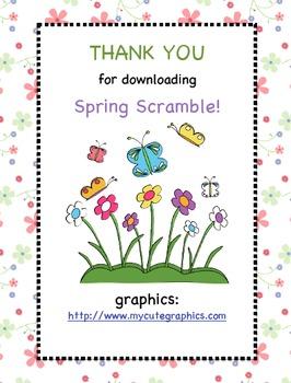 Spring Scamble!
