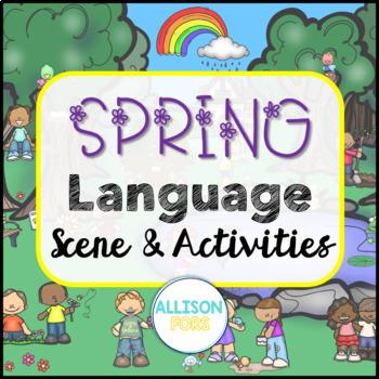 Spring Scene: Expressive & Receptive Language