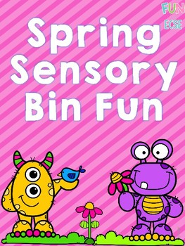 Spring Sensory Bin for Pre-K and Kindergarten