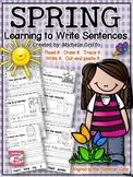 Spring Sentence Printables