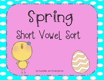 Spring Short Vowel Sort
