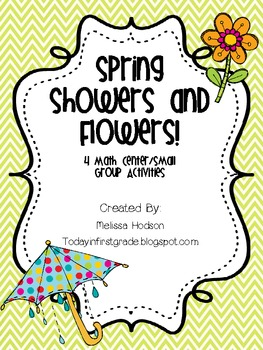 Spring Showers to Flowers: Math Centers