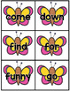 Spring Dolch Sight Word Games