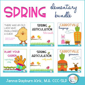 Spring Speech and Language Super BUNDLE