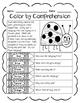 Spring & Spring Break (Color by Comprehension Stories & Qu
