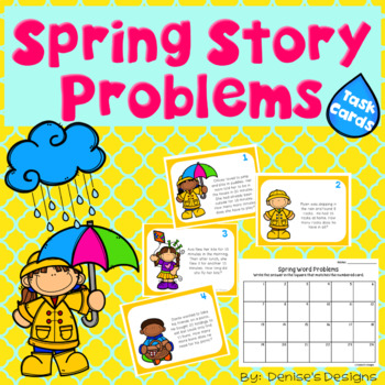 Spring Story Problems