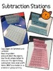 Spring Subtraction Stations {Hands on subtraction activiti
