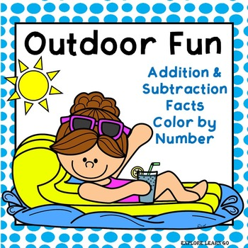 Spring & Summer Outdoor Fun Addition & Subtraction Facts t