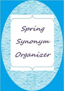 Spring Synonym Organizer