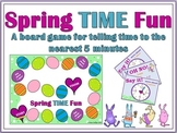 Spring TIME Fun - Telling Time to the Nearest Five Minutes