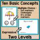 Spring Task Cards: Speech Therapy Basic Concepts