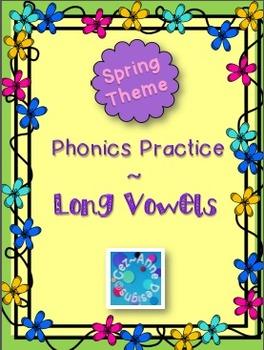 Spring Theme ~ Phonics Practice ~ Long Vowels