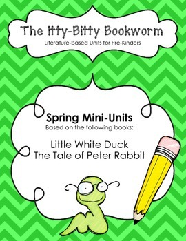 Spring Literature-based Units:  Little White Duck and Tale