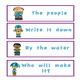 Spring Theme Fry's Phrases List 1