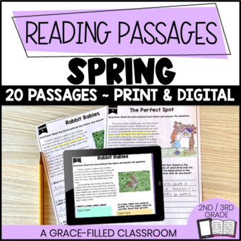 Spring Themed: 20 Short Passages