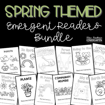 Spring Themed Emergent Readers