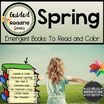 Spring Themed Guided Readers