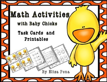 Spring Themed Math Activities and Task Cards