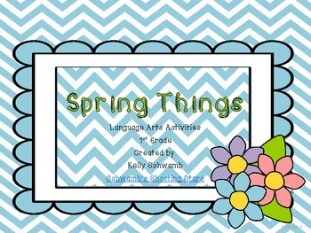 Spring Things Literacy Centers