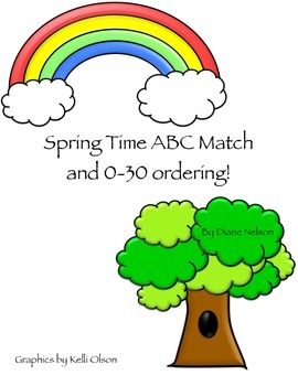 Spring Time ABC Match and 0-30 Ordering!