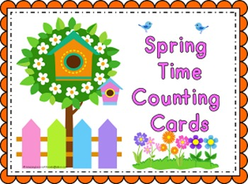 Spring Time Counting Cards