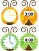 Lady Bug Theme Telling Time for Hour