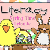 Spring Time Literacy Fun {Word Work Centers}