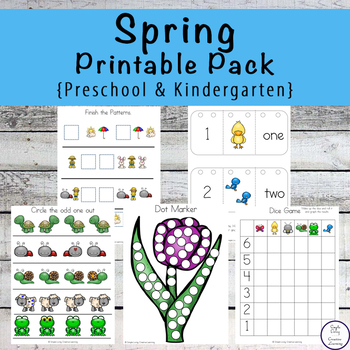 Spring Tots to Prep Pack