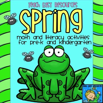 #springbackin Spring Math and Literacy Unit for Pre-K to K