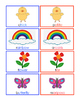 Spring Vocabulary Cards Dual Language